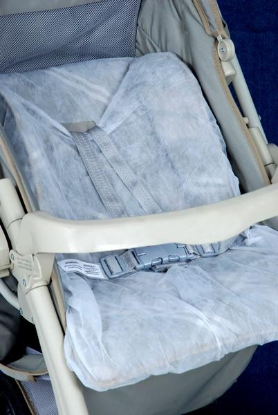 Protetor tnt carrinho bebe conforto